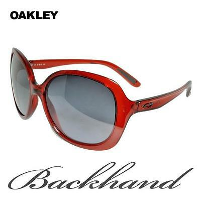 OAKLEY BACKHAND - womens sunglasses -- OO 9178-02  -- CHERRY RED - limited stock