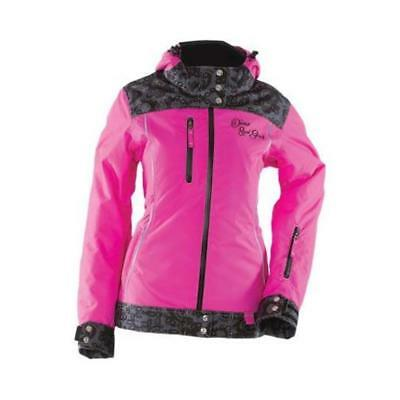 Divas SnowGear Lace Collection Womens Jacket (Pink, Small)