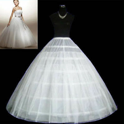 3 Hoop Crinoline 6 Hoop Petticoat Wedding Dress Crinoline Underskirt Bridal Gown