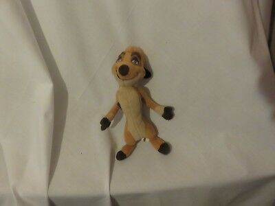"8"" cute soft timon from the lion king nicotoy disney plush doll"
