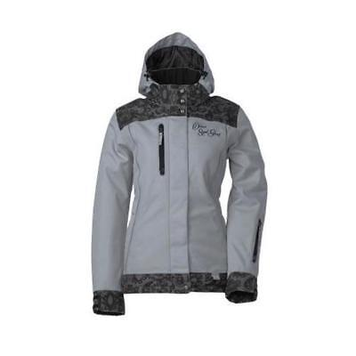 Divas SnowGear Lace Collection Womens Jacket (Gray, X-Small)