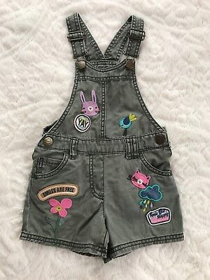 Next girls overall Size 2-3