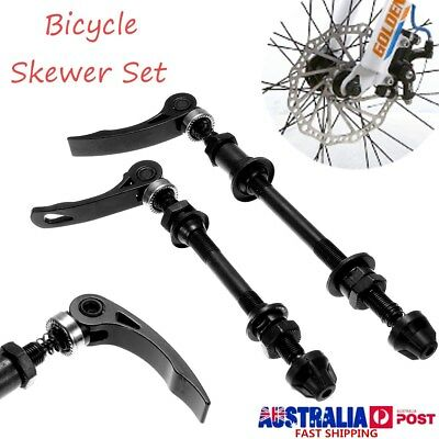 4Pcs Bicycle Skewer Set Mountain Bike Hollow Axles Quick Release Front And Rear