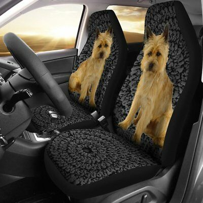 Cairn Terrier Print Car Seat Covers- Free Shipping