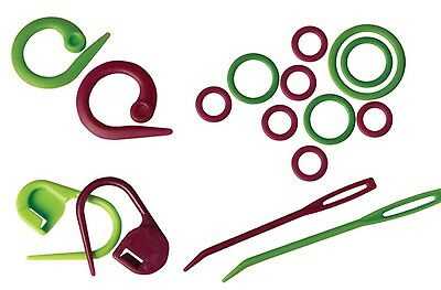 Stitch Markers Knitpro three types available for knitting or crochet