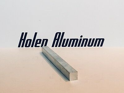 "1-1/2"" X 1-1/2"" X 10"" Long Square Aluminum Bar Stock 6061-T6 1.50"""