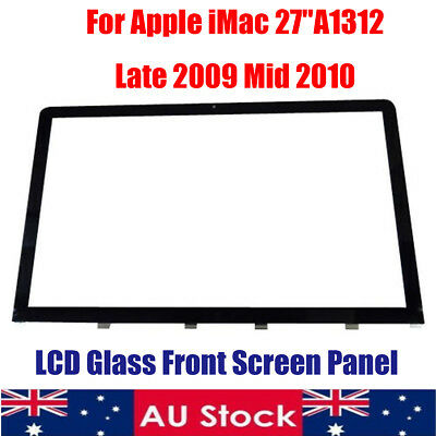 AU Glass Front Screen LCD Panel for Apple for iMac 27'' A1312 Late 2009 Mid 2010