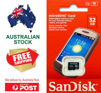 Sandisk Micro SD Card 16GB 32GB SDHC Class 4 TF Flash Smart Phone Camera Memory