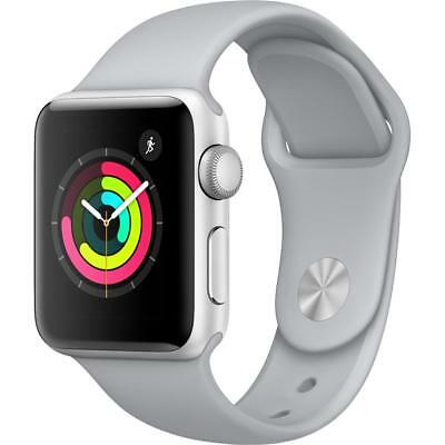 Apple Watch Series 3 38MM GPS Silver with Fog Sport Band MQKU2LL/A