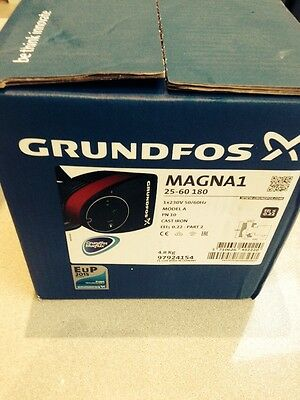 Grundfos Magna1 25 - 60 180 Circulator Pump 240v 97924154 55 80 UPS