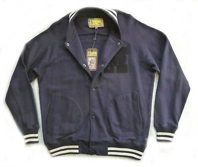 "Superb Barbour Steve Mcqueen "" Buddy "" Varsity Jacket  - Xxl - Brand New £170"
