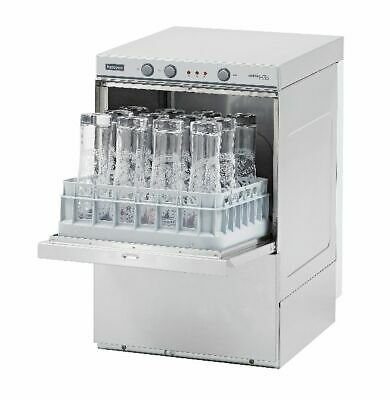 Halcyon Amika AM35XLD Undercounter Glasswasher with Drain Pump (Boxed New)