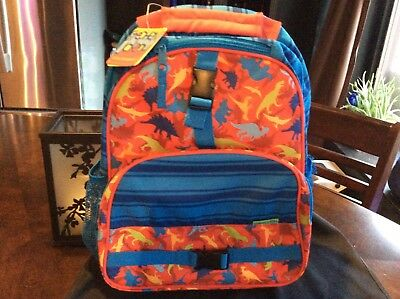 NWT Stephen Joseph All Over Dinasaur Print Children's Backpack