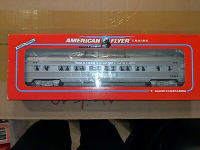 American Flyer S Gauge 6-48927 WP California Zephyr Vista Dome Car C-9 OB