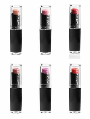 Wet N Wild Mega Last Long Lasting Matte Lipstick ~Choose Your Color~