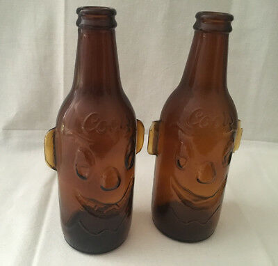 "Vintage Coors Bottle ""clown Face"" Figural Bi-Centennial Issued Collectible"