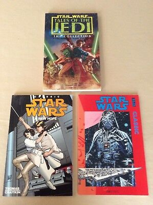 Star Wars Graphic Novels - A New Hope, Classic, Tales of the Jedi & Freedon Nadd