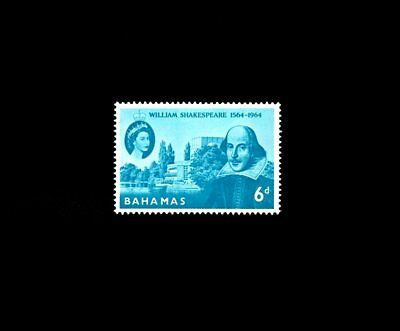 Bahamas - 1964 - Qe Ii - Shakespeare Issue - Mint - Mnh Single!