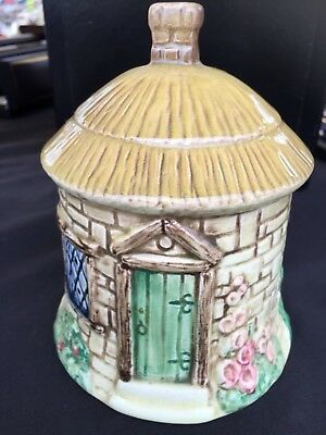 """SYLVAC CERAMICS"" Thatched Cottage bell HAND PAINTED"