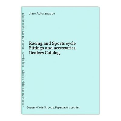 Racing and Sports cycle Fittings and accessories. Dealers Catalog.