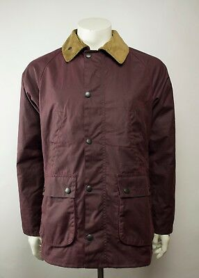 Rare Barbour Heritage SL Bedale Slim Waxed Jacket Size M