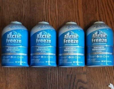 arctic freeze ultra synthetic refrigerant 134a instructions