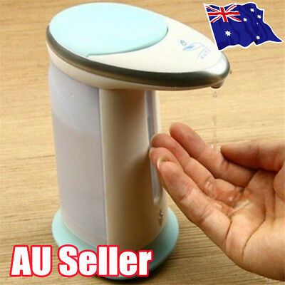 Automatic IR Sensor Soap Dispenser Touchless Handsfree Sanitizer Hand-Wash EA
