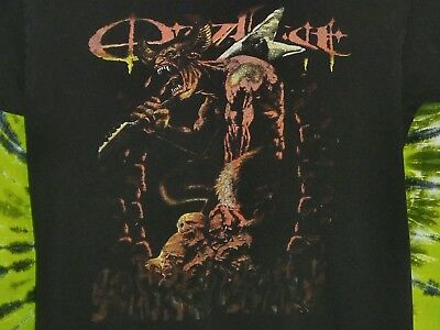 OZZFEST feat KORN, MARILYN MANSON, DISTURBED, and CHEVELLE 2003 T-shirt M