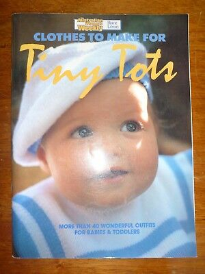 The Australian Womens Weekly Home Library-Clothes To Make For Tiny Tots