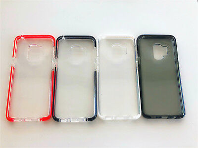 Galaxy S9/S9Plus Transparent Silicon Soft TPU Cover Case