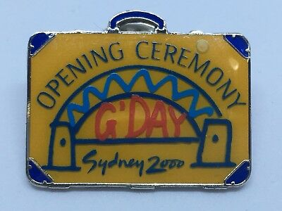 Sydney 2000 Olympic Games Opening Ceremony Official Audience Pin