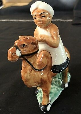 Vintage Salt And Pepper Shakers Collectable In  Ex Cond. - Camel And Rider