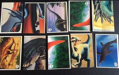 LOT OF 24 DINOSAUR CARDS Attack of the Dinosaurs DYNAMIC
