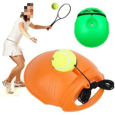 Tennis Trainer Self-study Training Practice Balls Back Base Tool +Tennis FI
