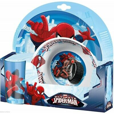 BBS Set da pranzo Ultimate Spider-Man in Melamina