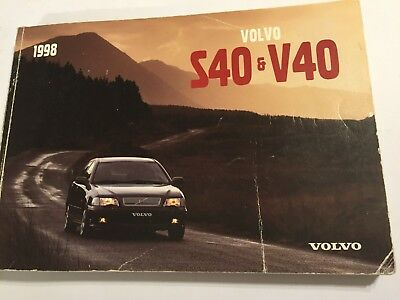 volvo v40 owners manual drivers handbook 1996 petrol turbo diesel rh picclick co uk 2017 Volvo S40 Turbo 2010 Volvo S40 Turbo
