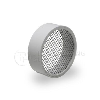 """Raven R1510 PVC Termination Vent,304 Stainless Screen with Condensation Drain,4"""""""