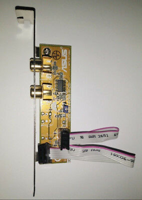 ASUS Motherboard SPDIF In / out SPDIF-IN SPDIF-OUT Audio Riser Plate Bracket