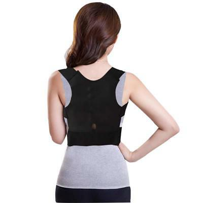 Posture Corrector Back Support Brace Shoulder Belt Women Men Magnetic Adjustable