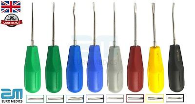 Set Of 8 Elevators Tooth Loosening Root Extraction Surgial Dentist choice Tools
