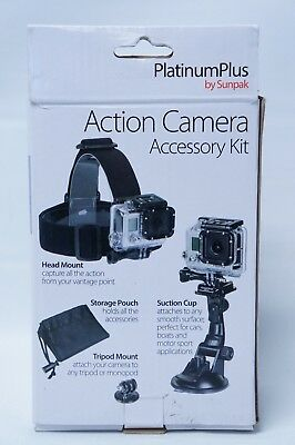 Platinum Plus Action Camera Accessory Kit for GoPro