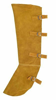 Portwest Leather Welding Boot Cover Cowhide Safety Work Protection SW32
