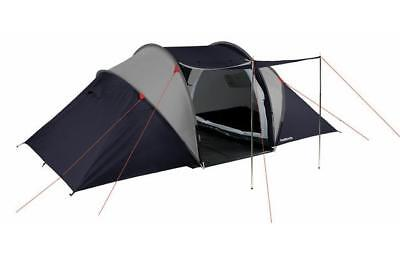 Halfords 4 Man Person Vis A Vis Tent Tunnel Double Skin Living Space