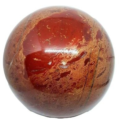 HUGE Red Jasper Crystal Ball 11.1 Kg Sphere Huge Rare Size Massive Specimen