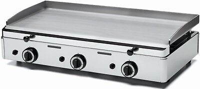 Parry PGF800G Stainless Steel Griddle with Three Gas Burners (Boxed New)