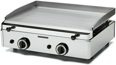 Parry PGF600G Stainless Steel Natural Gas Griddle with Two Burners (New Boxed)