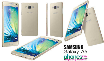 BRAND NEW SAMSUNG GALAXY A5 A500FU - 16GB - UNLOCKED SMARTPHONE Various Colours
