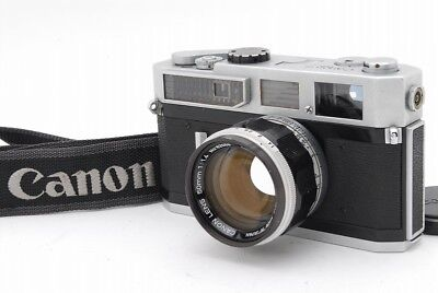 canon model 7 rangefinder 35mm film camera body leica