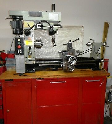 Central Machinery 3-IN-1 Mill/Lathe/Drill Model 44142
