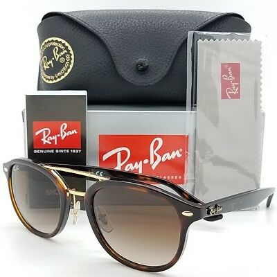 9bc4b9113fe NEW Rayban sunglasses RB2183 1225 13 53mm Tortoise Brown Gold AUTHENTIC 2183